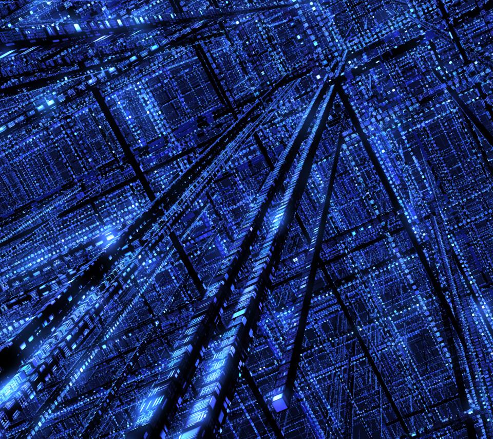 blue-matrix