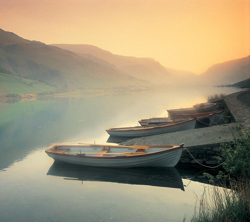 Tal-y-llyn Lake at Dawn, North Wales