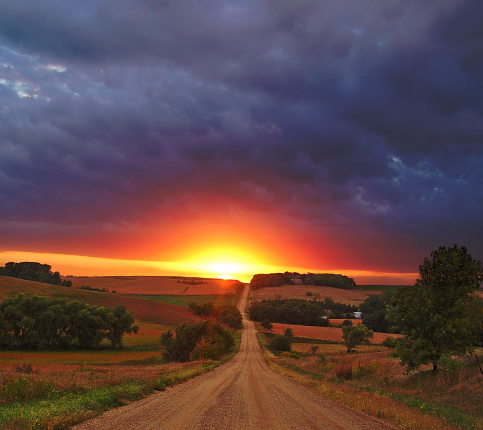 nature_sunset_road