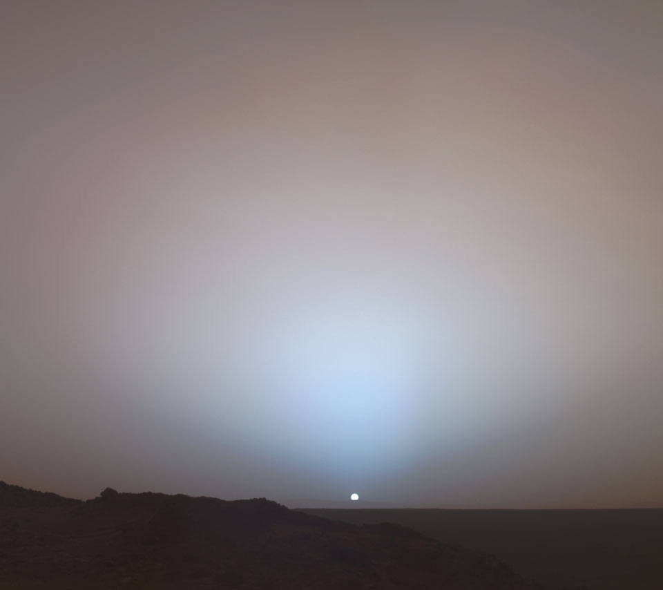 space_mars_sunset